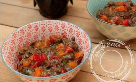 Salade thaï à la joue de boeuf