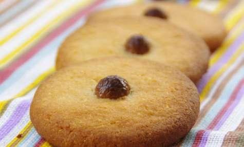 Palets breton aux grains de café chocolatés