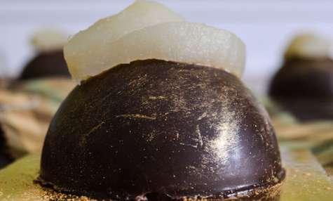 Dômes poires & chocolat