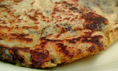 Tortilla aux aubergines - vegan, sans gluten (Espagne)
