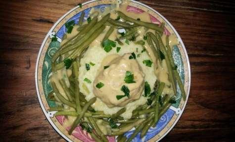 Lapin sauce Poulette
