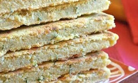 galette kabyle aux oignons, piment et origan
