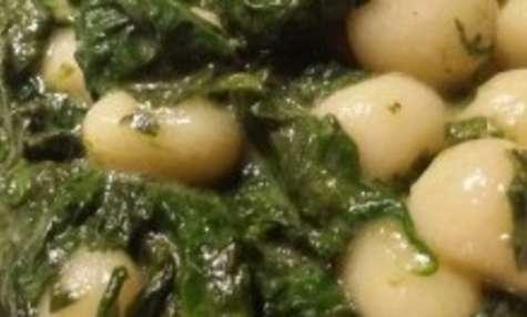 Chicche di Patate aux épinards