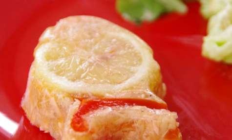 Aspics au saumon