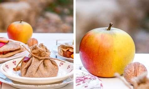 Galettes de sarrasin aux pommes