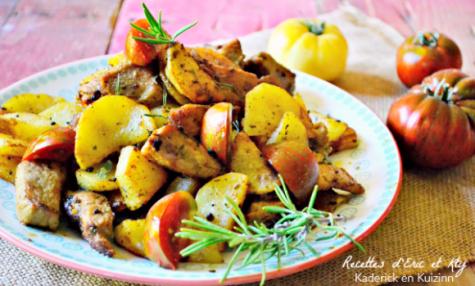 Recettes de plancha et de pomme de terre - Cuisiner le saute de porc ...