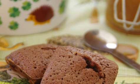 Moelleux chocolat noir coeur caramel
