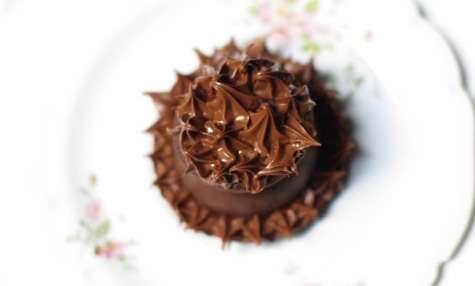 Boules de Noël chocolat et caramel beurre salé