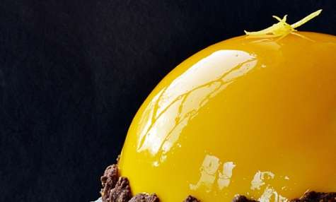Dôme très citron