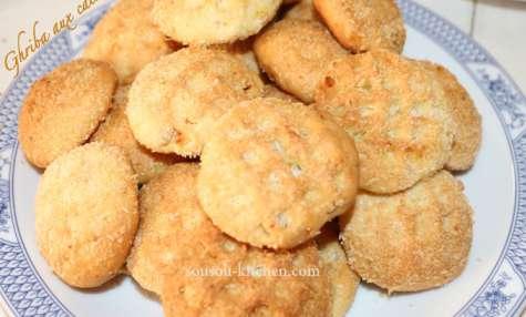 Ghoriba ghriba aux cacahuètes