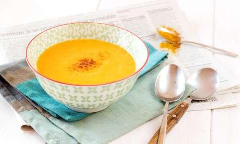 La soupe au potiron épicée de papa Hugo