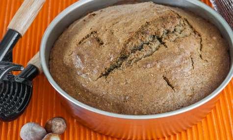 Gâteau aux noisettes et citron