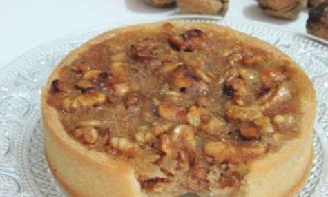 Tartelettes aux noix et sirop d'érable