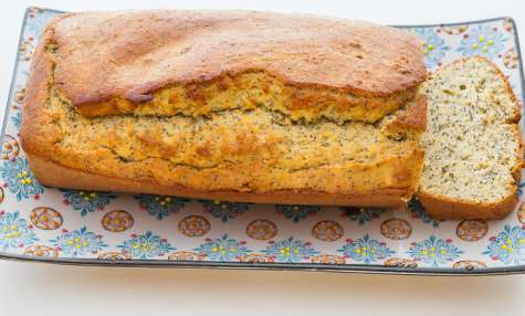 Gâteau du matin aux graines de pavot et citron