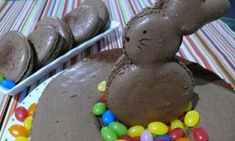 Macaron Chocolat Noir et Cardamome