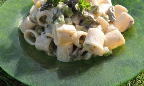 Mezze Maniche aux asperges vertes