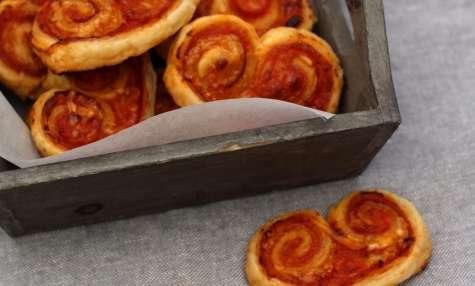 Palmiers apéro façon pizza