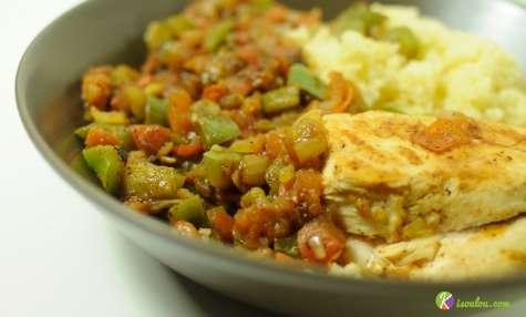 Couscous de poulet aux légumes
