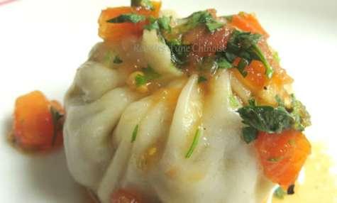 Momo, raviolis tibétains