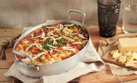 Clafoutis Tomates Cerise Fromage