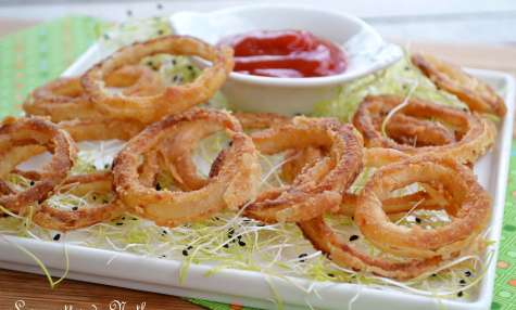 Oignons frits au paprika fumé