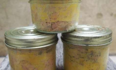 Foie gras en conserve, la recette de Chef Simon