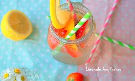 Limonade à la fraise