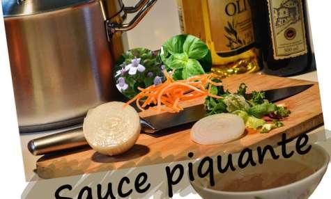 Sauce piquante pour viandes grillées