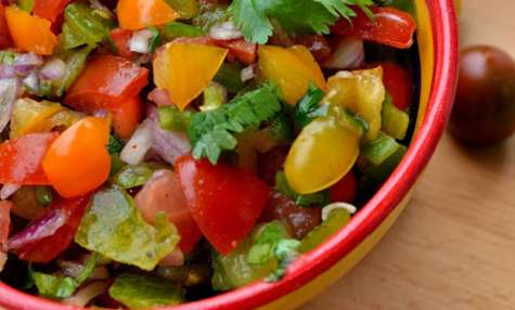 Pico de gallo, salade mexicaine