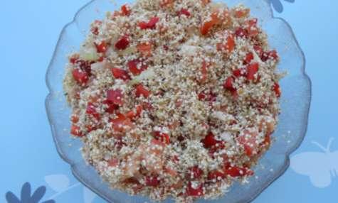 Taboulé de quinoa germé