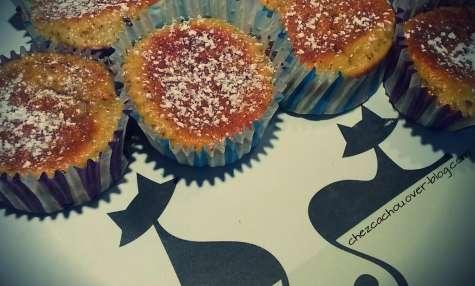 Muffins à l'orange aux pépites de chocolat
