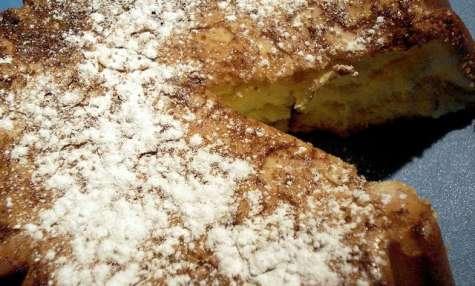 Gâteau tôt-fait à l'eau de fleurs d'oranger