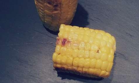 Maïs grillé à la plancha