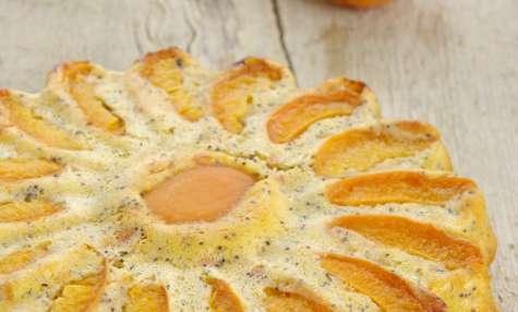 Gâteau aux abricots et au pavot