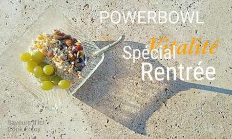 PowerBowl aux couleurs de la rentrée pleine de vitalité