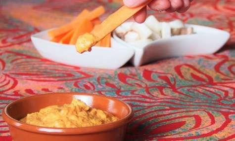 Sauce pour apéritif aux poivrons