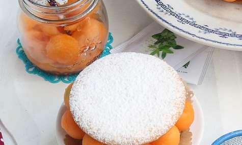 Tarte melon crème chiboust menthe verveine