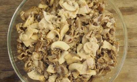 Pâtes très champignons