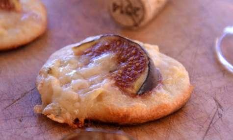 Pizzette aux Figues et au Gorgonzola
