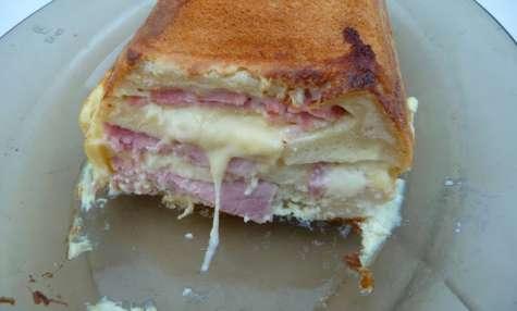Croque-cake jambon emmental