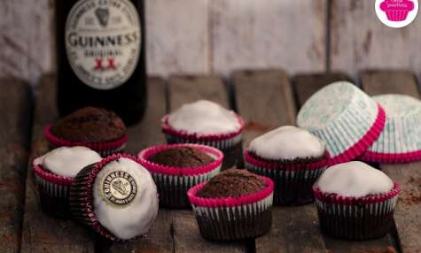 Chocolate Guinness Cupcakes Muffins