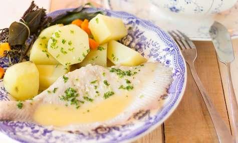 Ailes de raie au beurre blanc