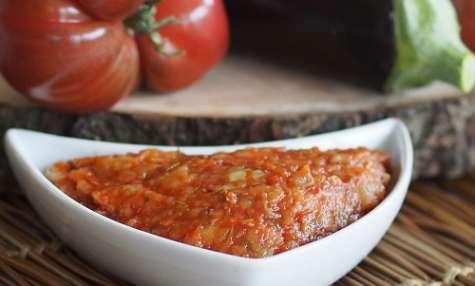 Sauce tomate à l'aubergine, légère et express
