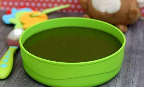 Soupe aux trois légumes verts