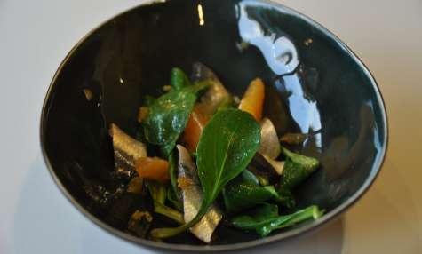Salade automnale de sardines et agrumes