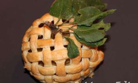 Pomme garnie en cage