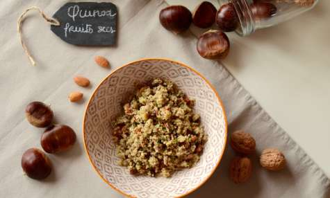 Salade de quinoa et fruits secs