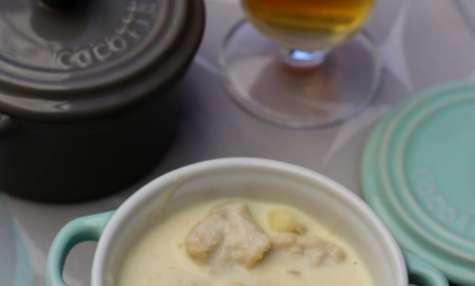 Poulet à la ch'ti: bière et maroilles