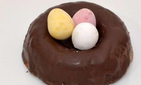 Petits Nids de Pâques au Caramel et Chocolat