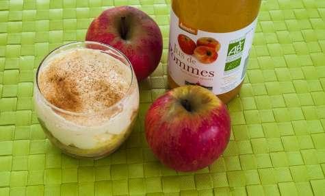 Tiramisu aux pommes